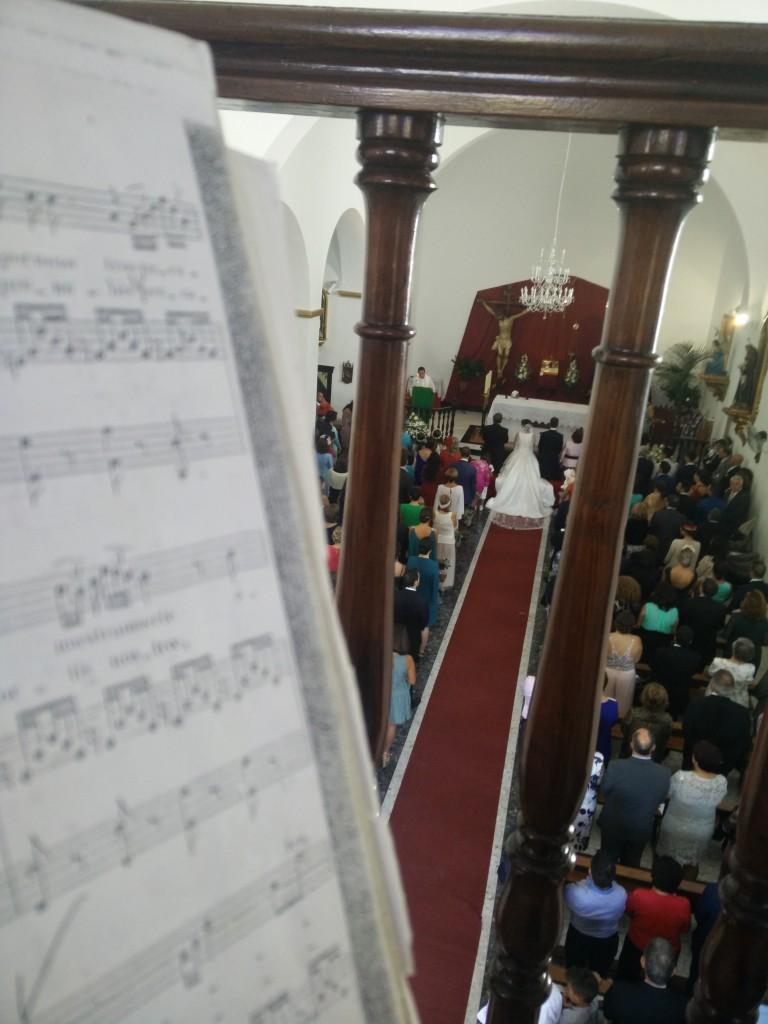 Música en ceremonia religiosa